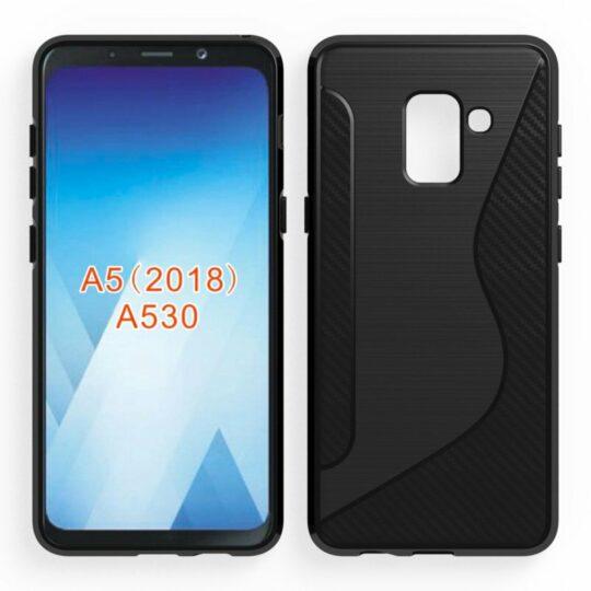Galaxy A5 (2018) case render