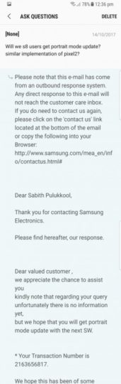 Galaxy S8 Live Focus