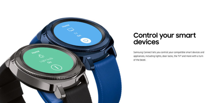 Control smart devices with Gear S3