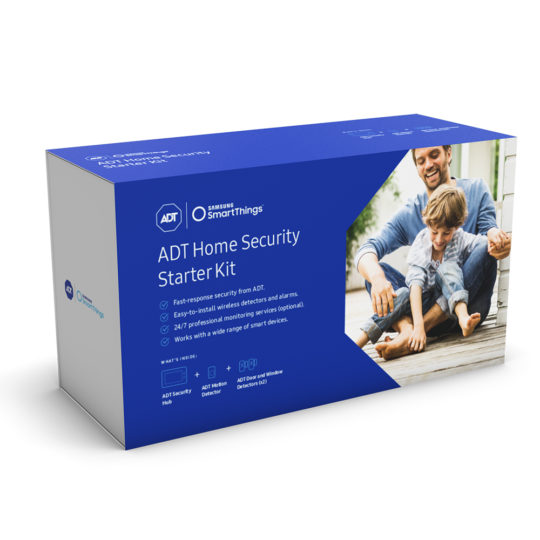 SmartThings home security system