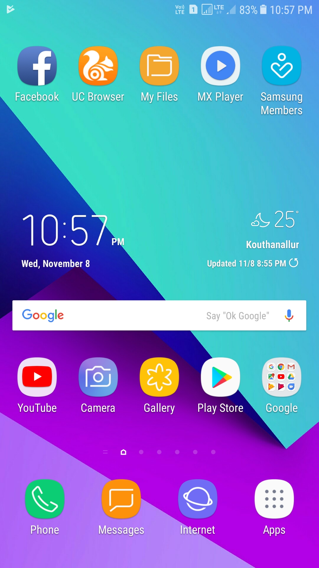 Galaxy C9 Pro now receiving Android 7 1 1 Nougat update in