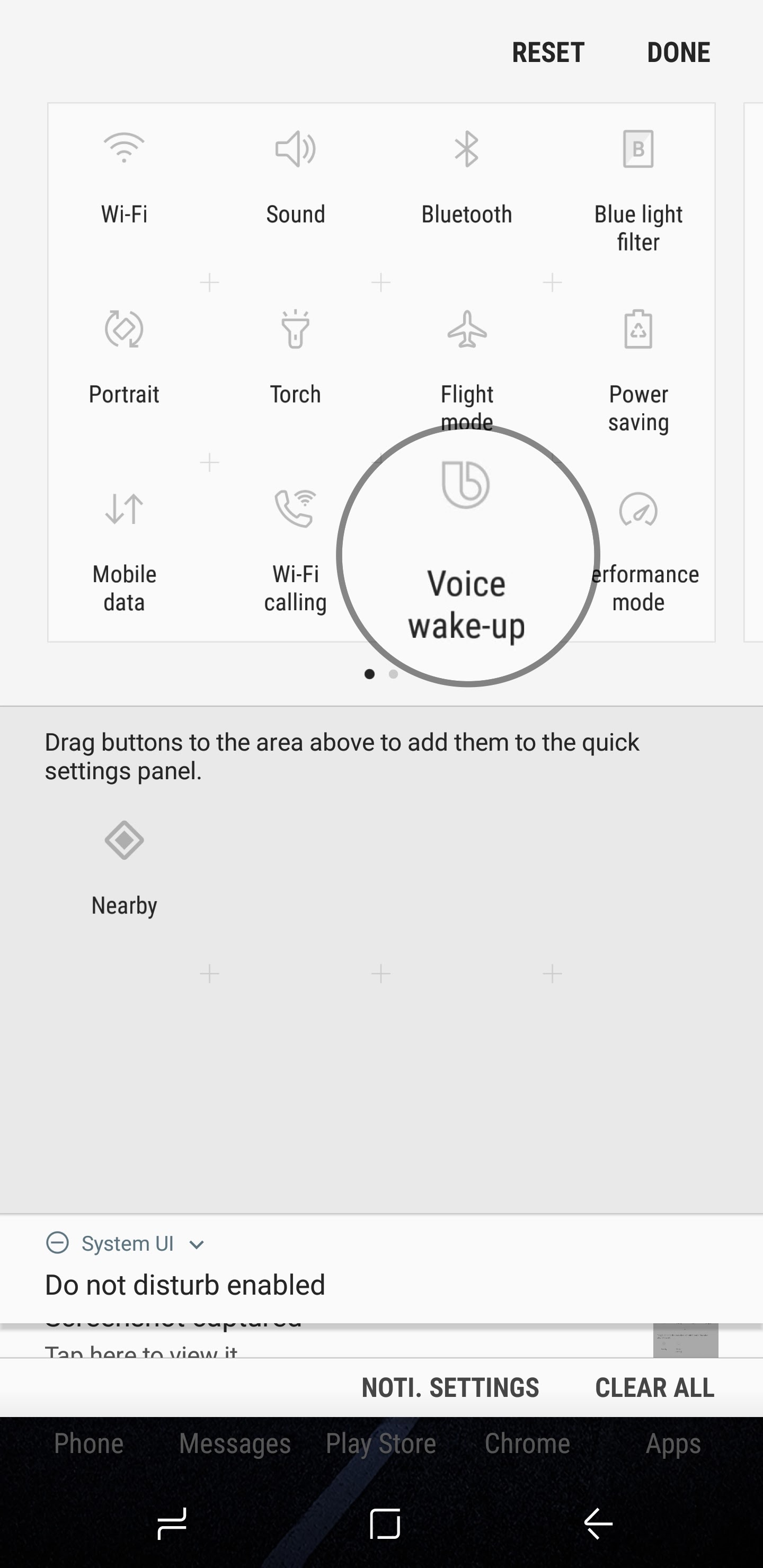 Bixby Tip: Enable or disable Bixby's voice wake-up feature with its quick toggle