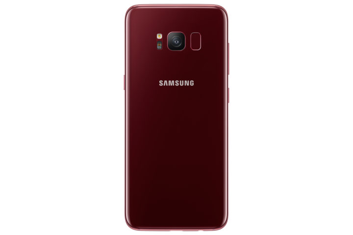 Burgundy Red Galaxy S8 now available for purchase in South Korea
