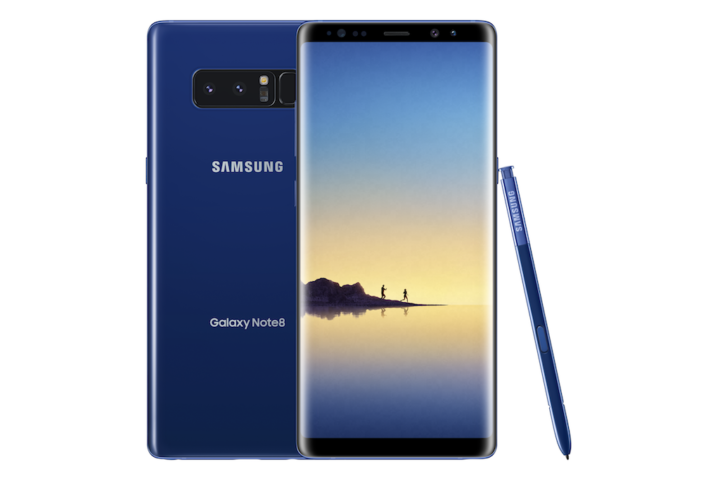 Deepsea Blue Galaxy Note 8