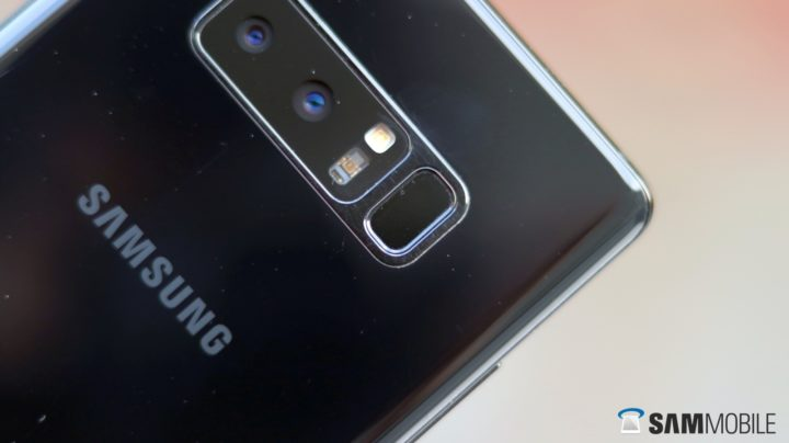 PSA: Galaxy Note 8 owners, don't forget about the fingerprint gestures