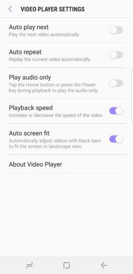 What's New With Android 8.0 Oreo Part 12: Enhanced video player functionality