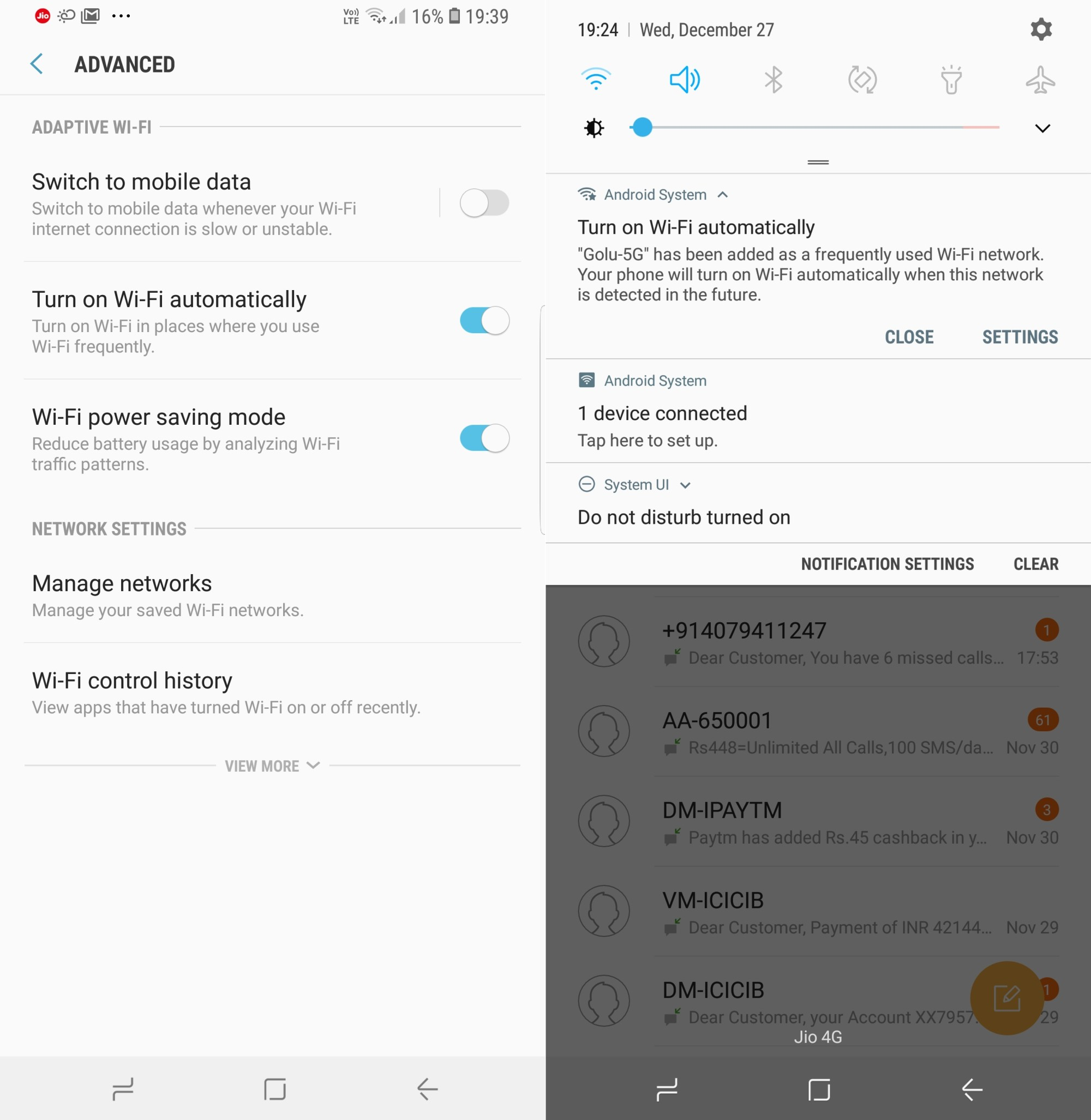 What's New With Android 8.0 Oreo Part 15: Automatically turn Wi-Fi on near known networks