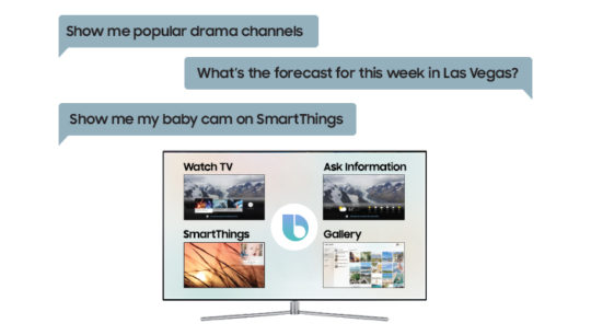 Samsung announces new features for their 2018 Smart TV