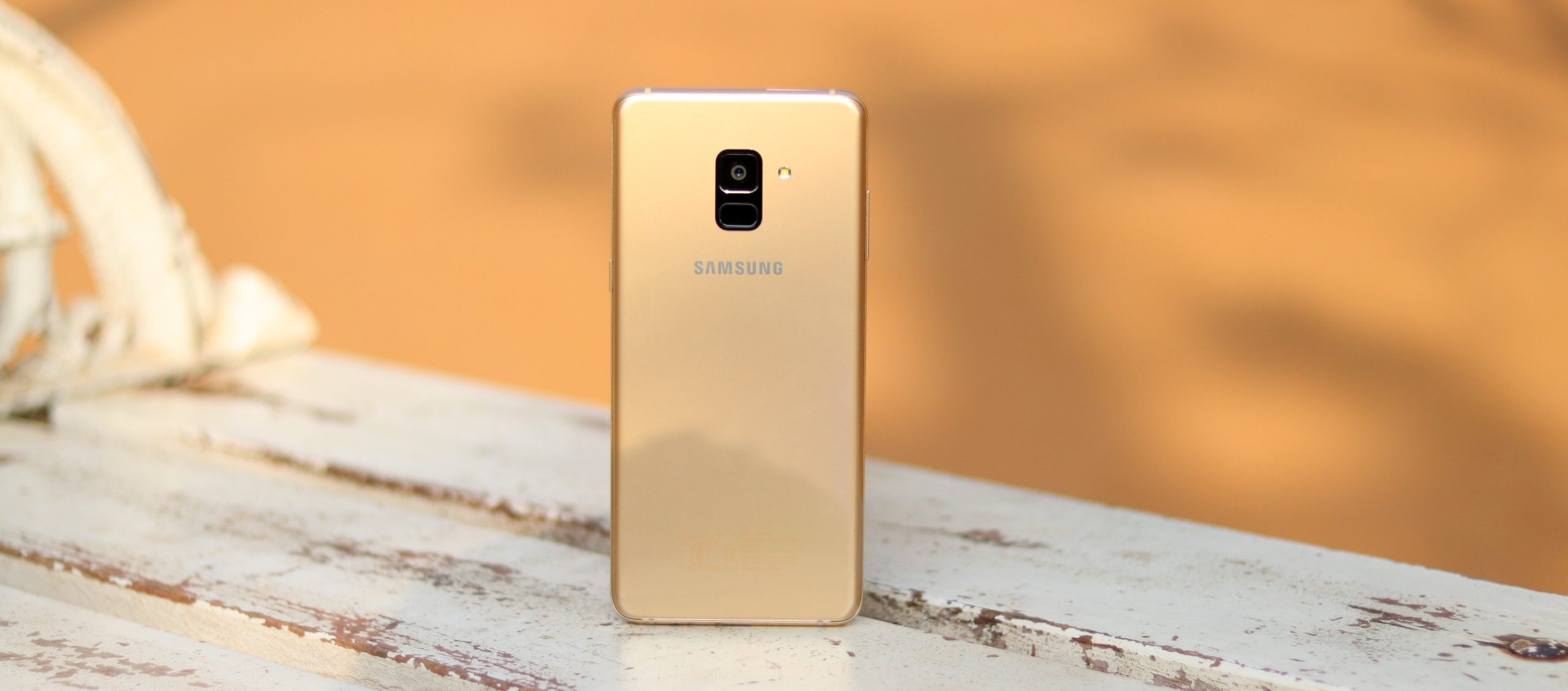 Galaxy A8 Plus (2018) Android Pie update rolling out in