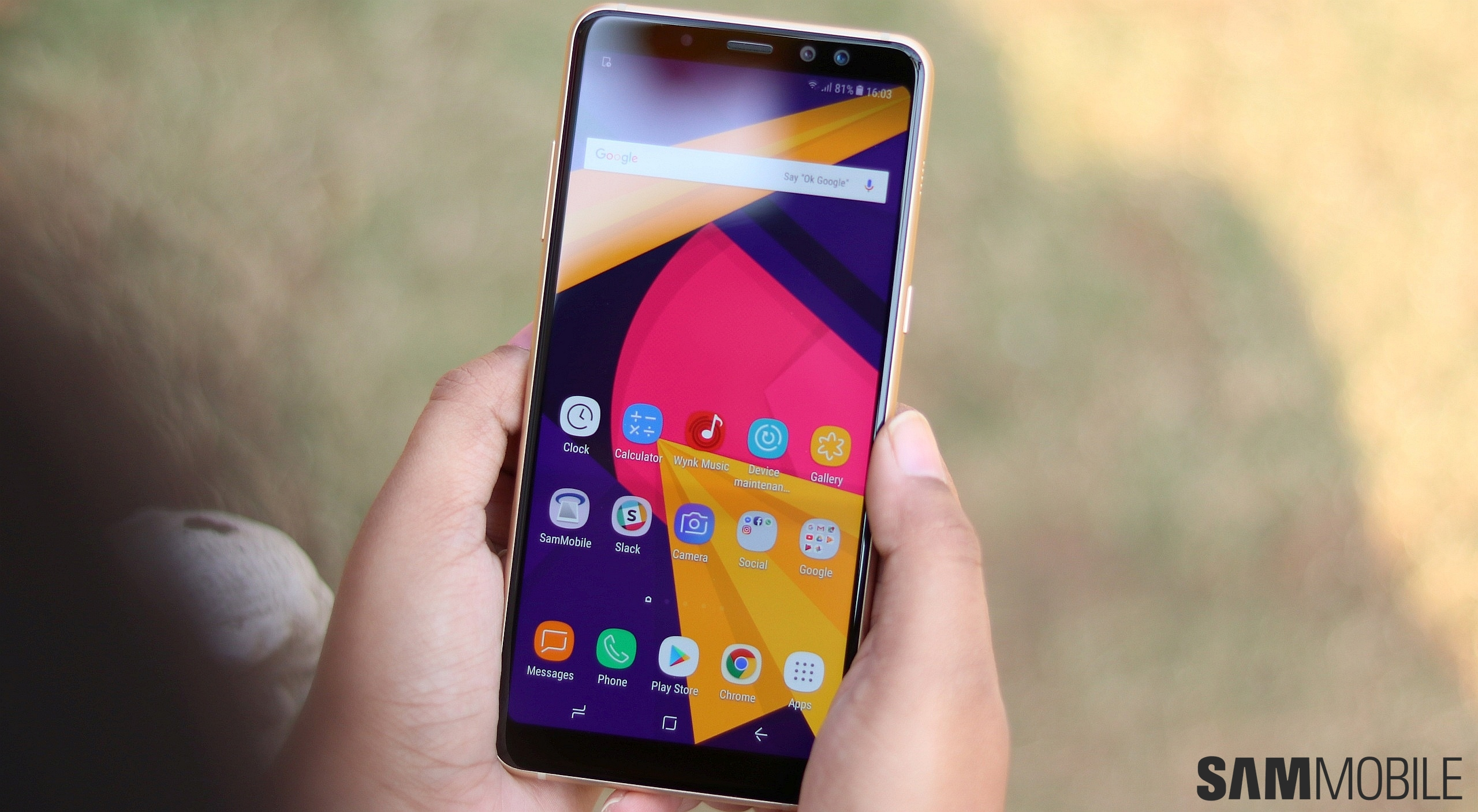 Samsung Galaxy A8 2018 And Galaxy A8 Review Sammobile