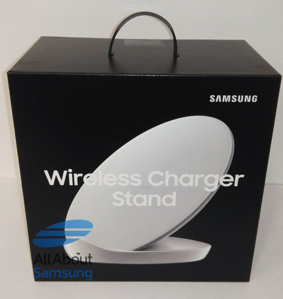 samsung 39 s new wireless charger stand for galaxy s9 leaked. Black Bedroom Furniture Sets. Home Design Ideas