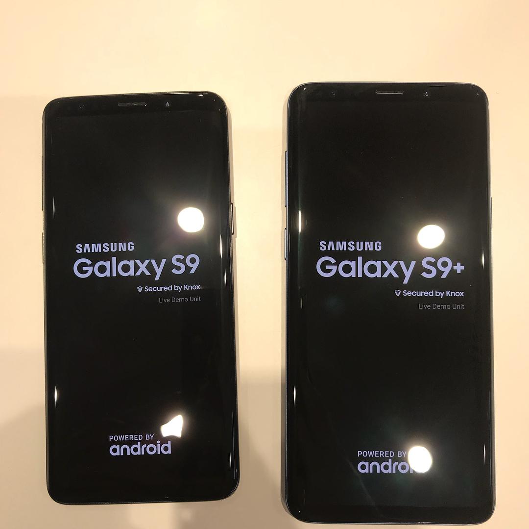 Crystal clear photos of the Samsung Galaxy S9 & S9+ leak