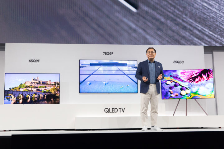 Samsung Reveals Prices For Its 2018 QLED TVs