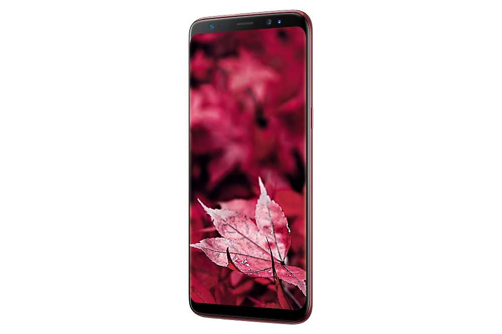 Limited Edition Burgundy Red Galaxy S8 Launched In India Sammobile