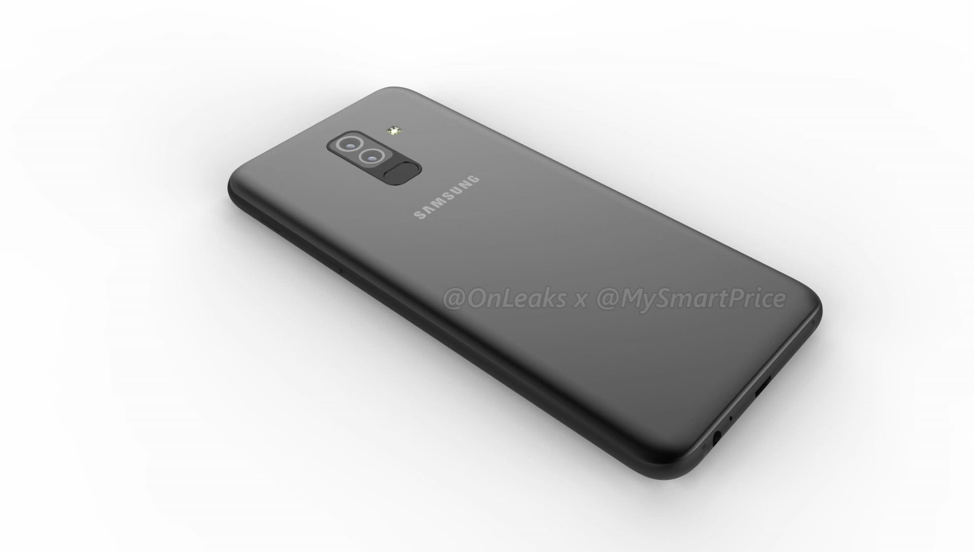 galaxy a6 and galaxy a6 renders reveal dual rear camera. Black Bedroom Furniture Sets. Home Design Ideas