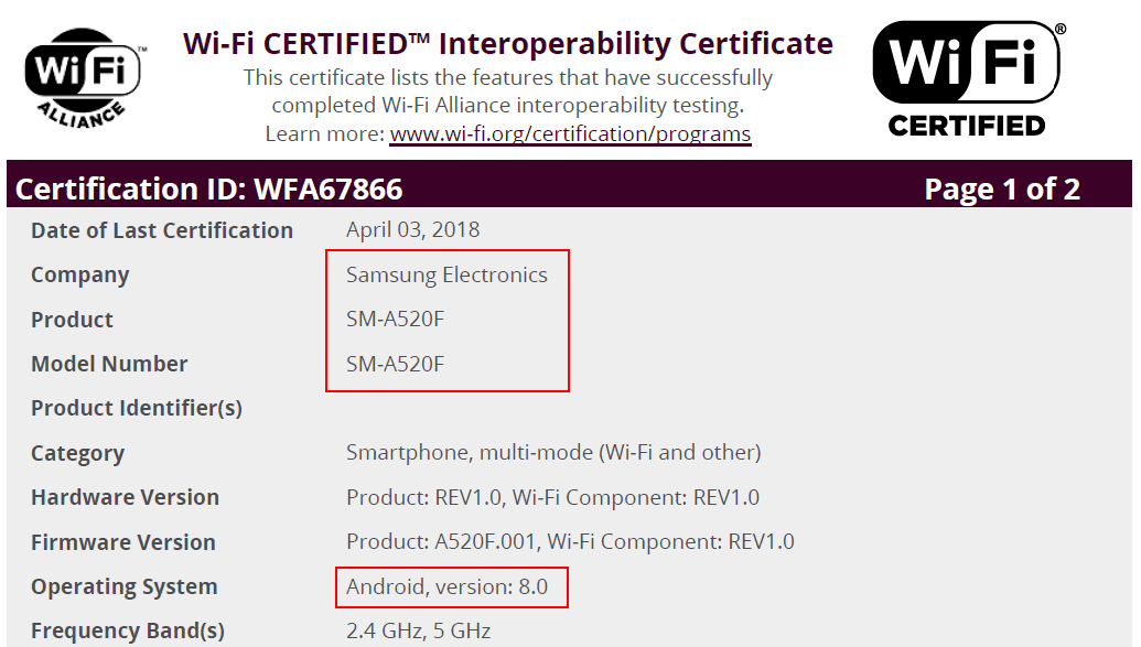 Galaxy S7, A5 (2017), and A3 (2017) set to receive the Oreo update