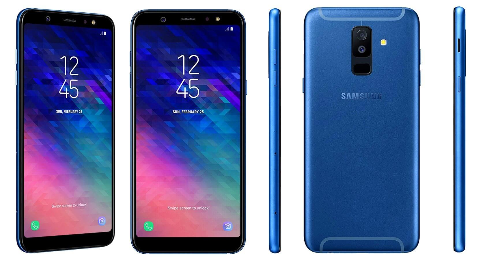 full galaxy a6 and galaxy a6 specs revealed in samsung. Black Bedroom Furniture Sets. Home Design Ideas