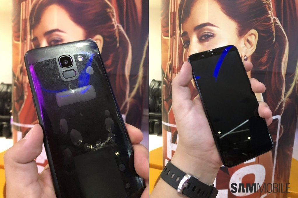 Exclusive: Here's the Galaxy J6 with its Infinity display in the flesh