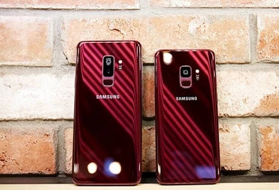 Samsung S Lovely Gold And Burgundy Galaxy S9s Aren T Coming To The Us The Verge