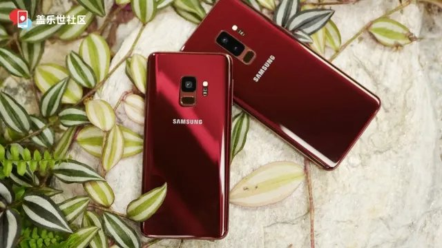 Take a look at the jaw-dropping Burgundy Red Galaxy S9 and