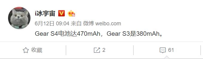 Gear S4 battery might be bigger than its predecessor's