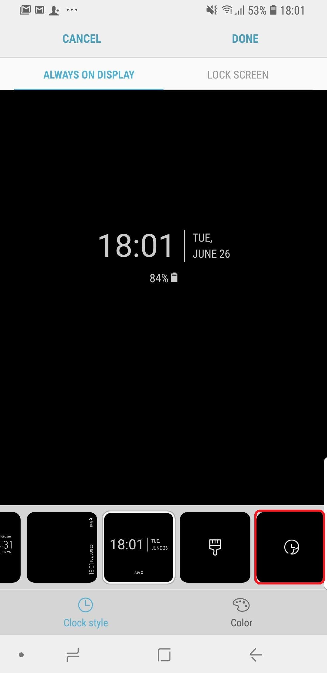 Get New Always On Display Clock Faces With This Samsung App Sammobile