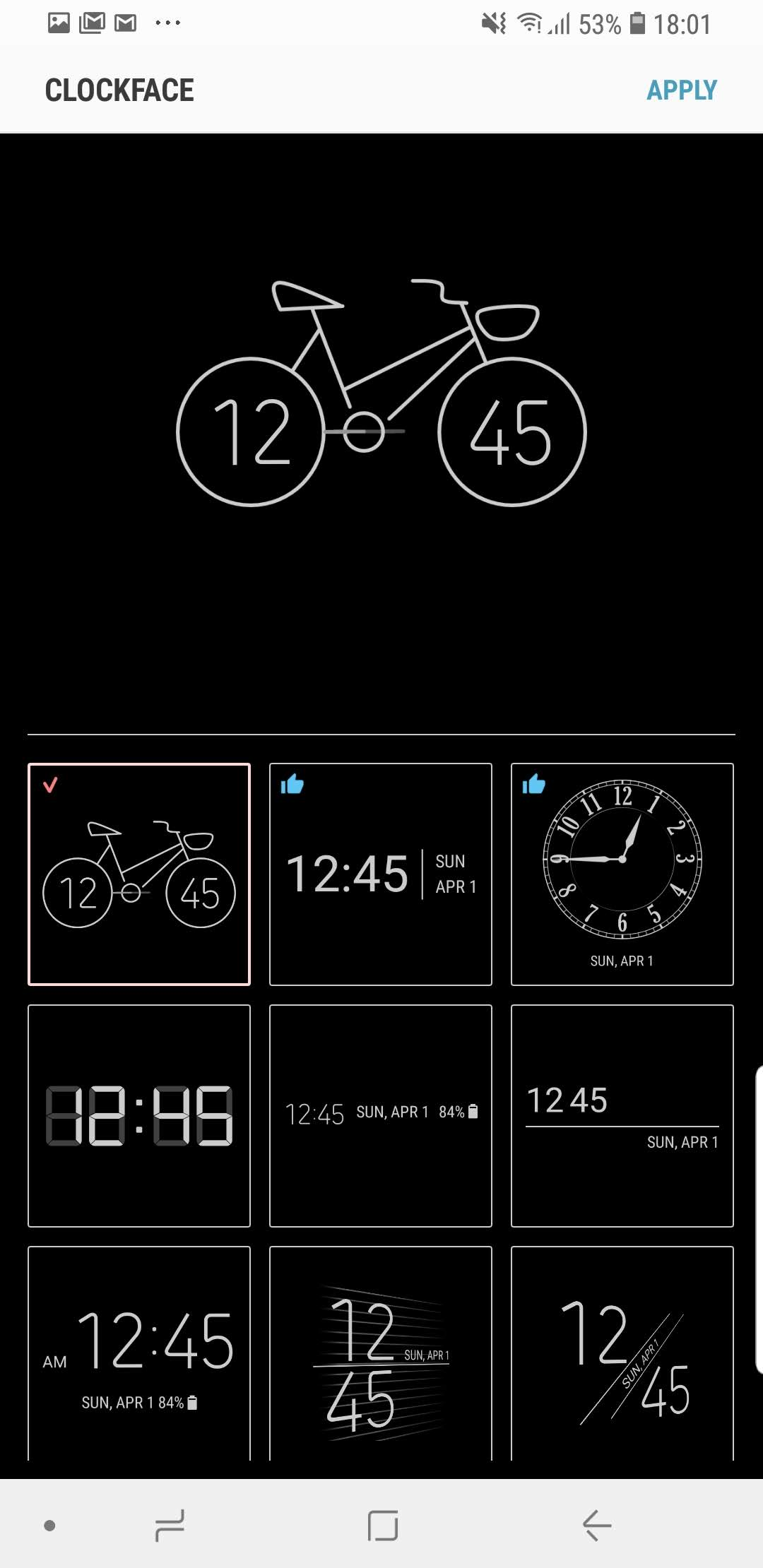 Get new Always On Display clock faces with this Samsung app