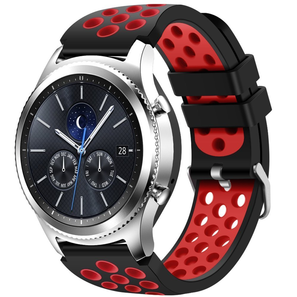 Best Bands For Gear S3 Frontier And Classic Sammobile Samsung Double Side Strap Only Creategreat Breathable Sport Band