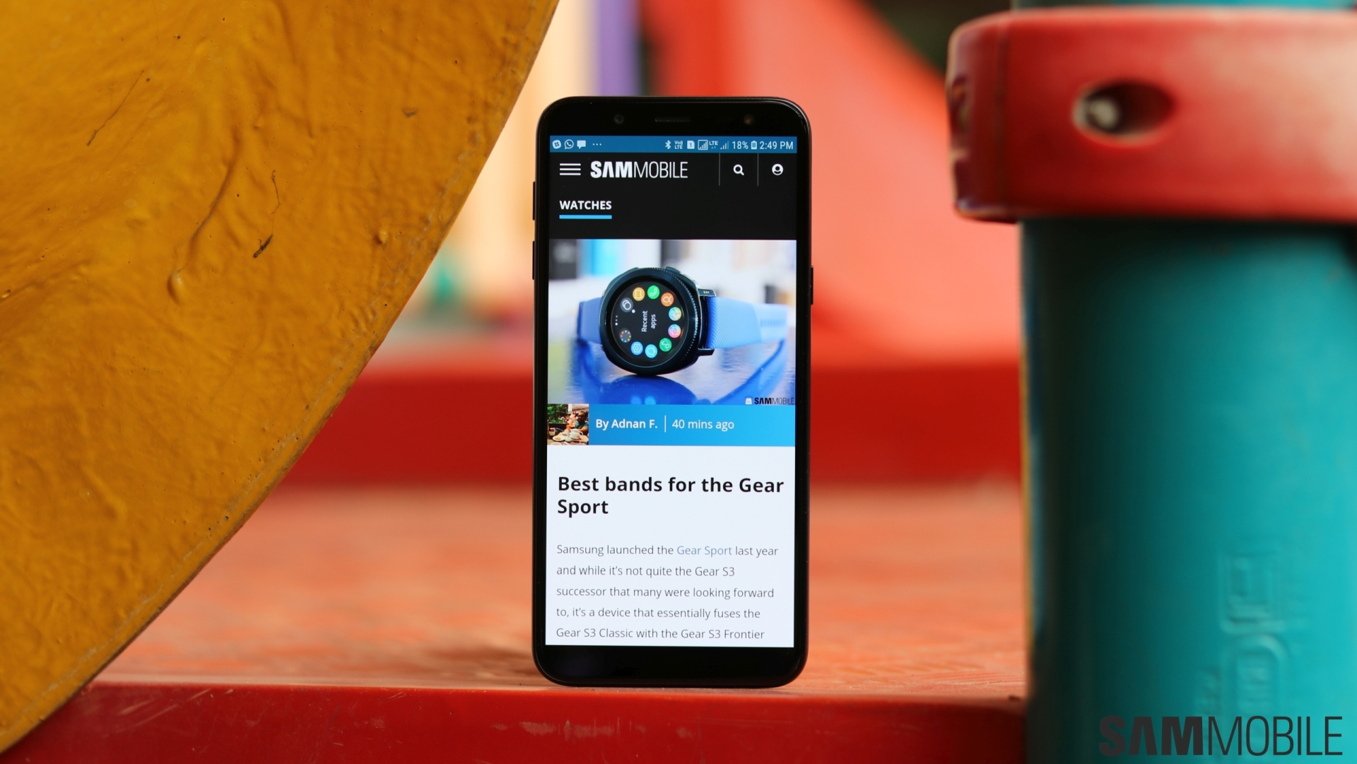 Samsung Galaxy J6 review: Greater than the sum of its parts - SamMobile