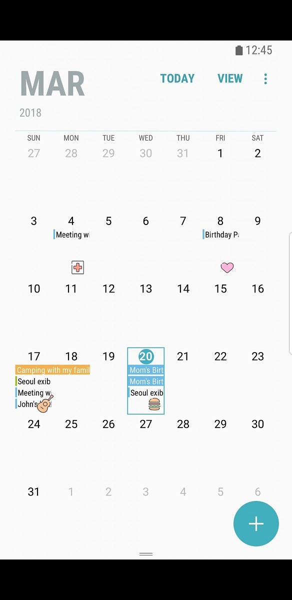 samsung kalender app