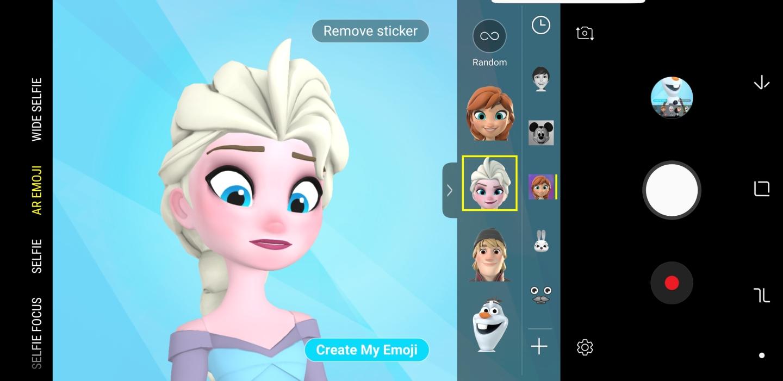 disney frozen ar emoji 2