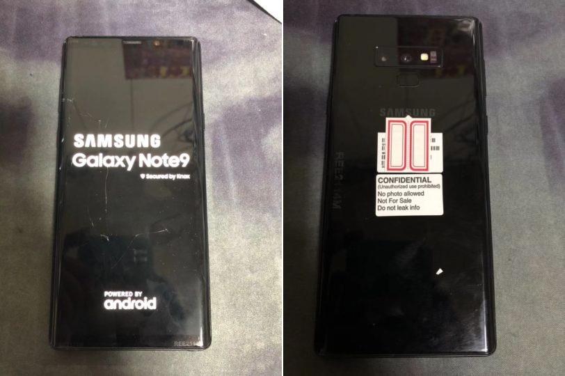 Galaxy Note 9 leak