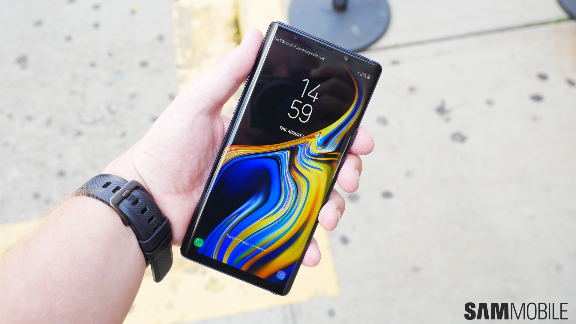 There's a new update for the Galaxy Note 9 in Asia and Europe