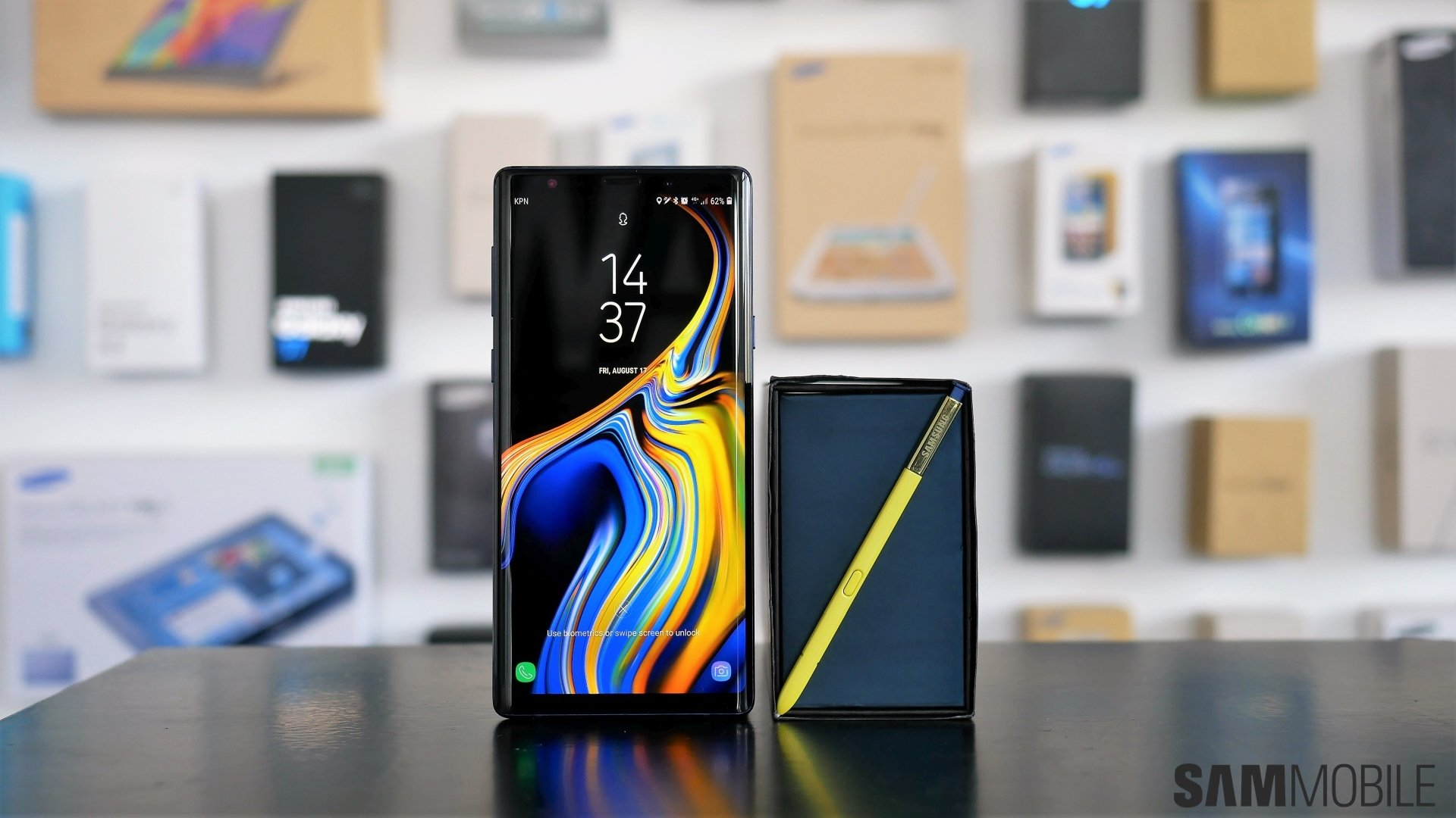 Set A Live Wallpaper On Your Galaxy Note 9 For Added Visual Flair Sammobile