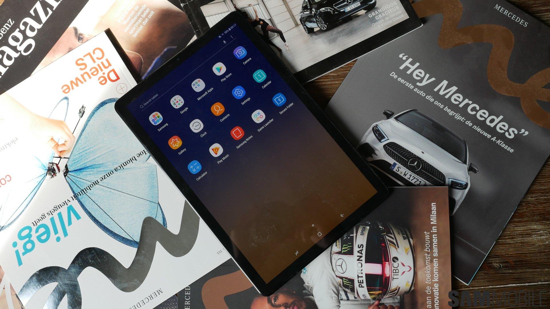 Specs comparison: Samsung Galaxy Tab S4 vs  Galaxy Tab S2
