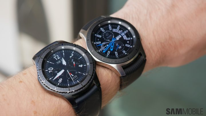 Samsung galaxy watch vs gear s3 in pictures sammobile for Watches gear