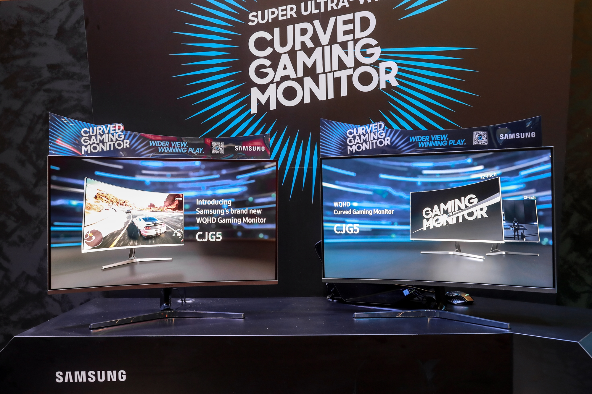 Samsung adds a new 'affordable' model to its curved monitor