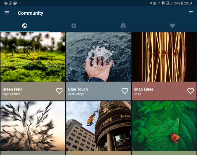 Use the Backdrops app for stunning wallpapers on your Galaxy smartphone