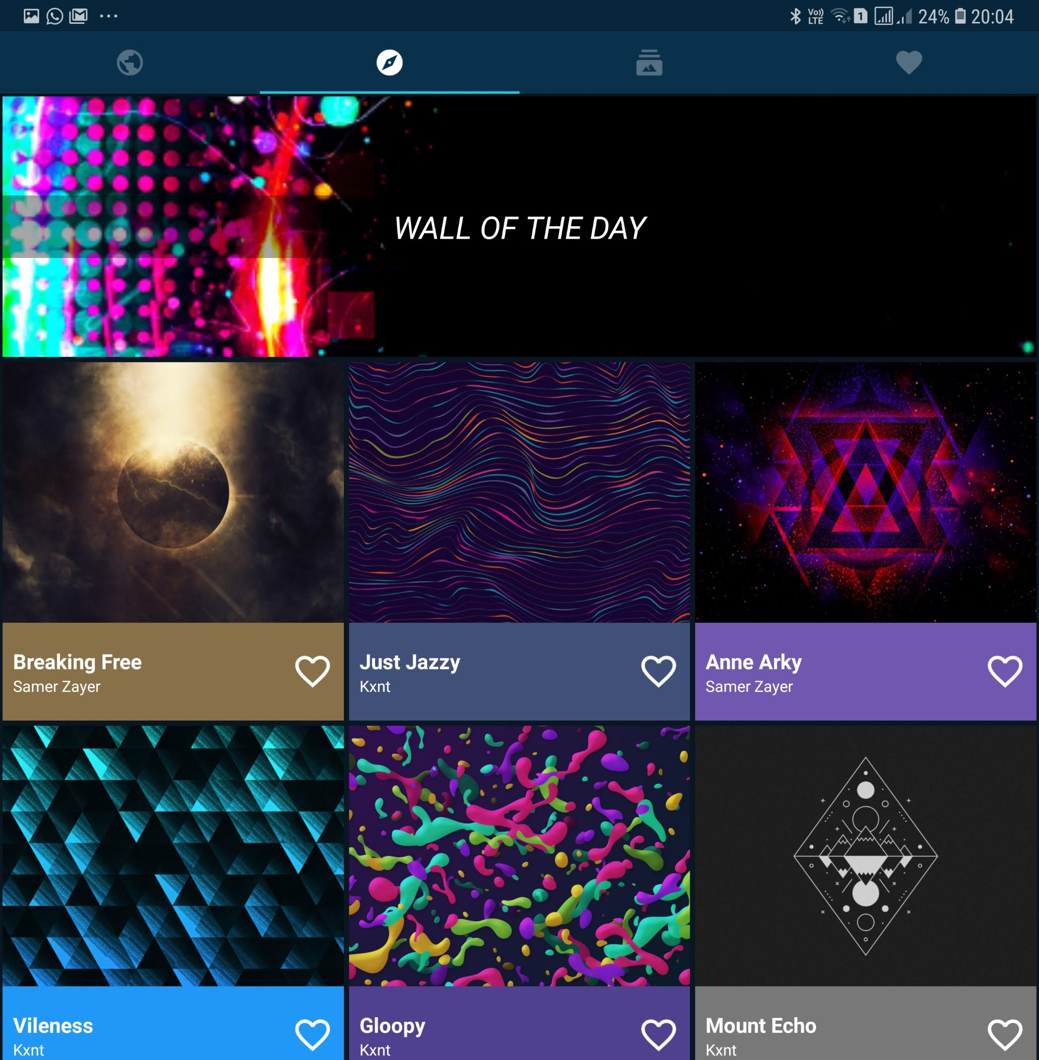Backdrops App Has Stunning Wallpapers On Your Galaxy
