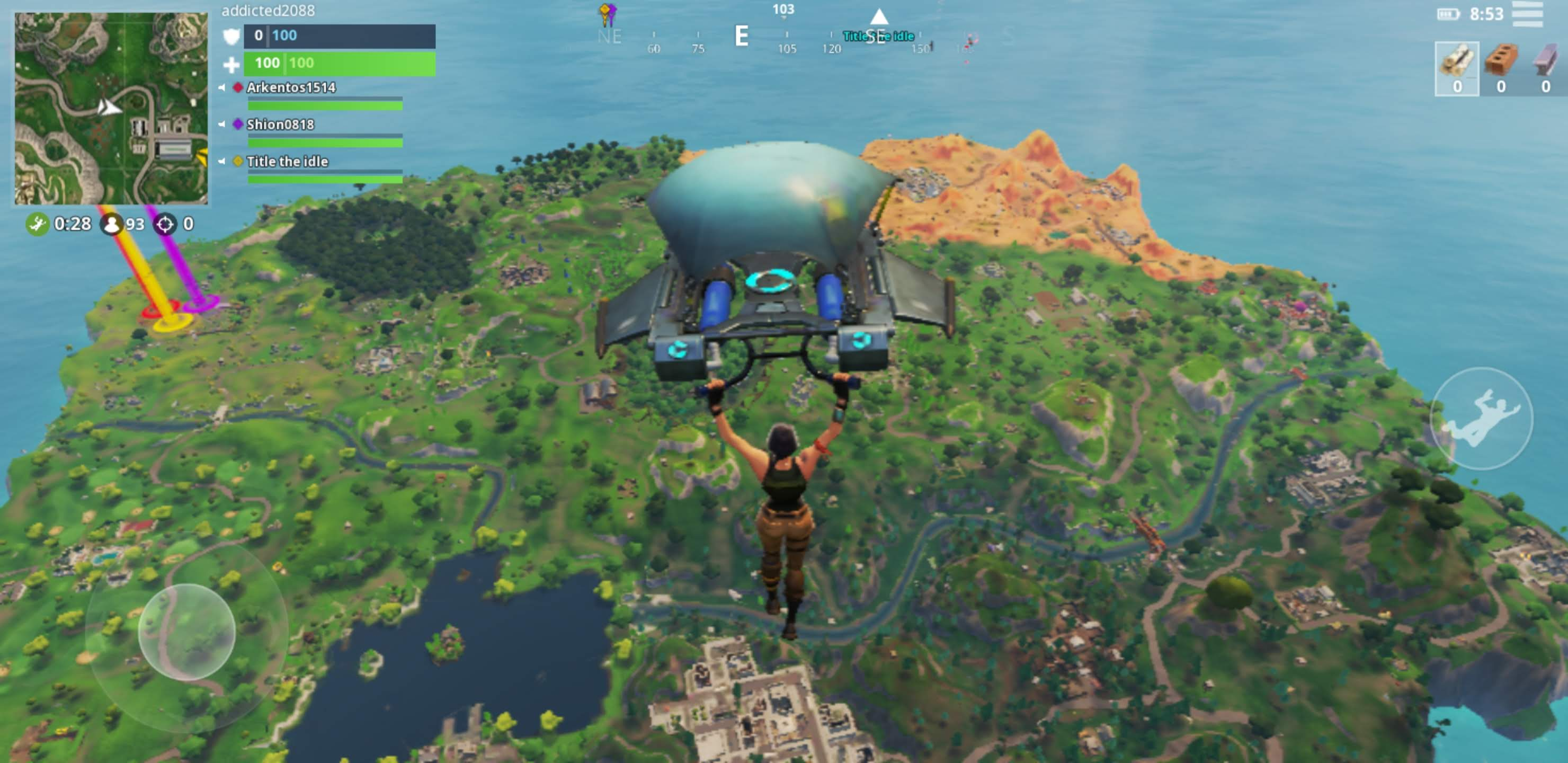 we will try it out on the galaxy s9 and see if it s the same on that device the galaxy note 9 may well have exclusive rights to the highest graphics - fortnite auf samsung galaxy s7