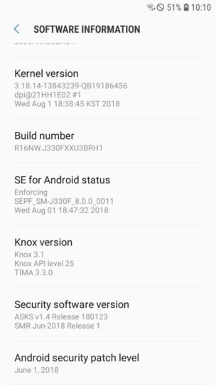 Galaxy J3 (2017) Oreo update released in Russia and the UAE