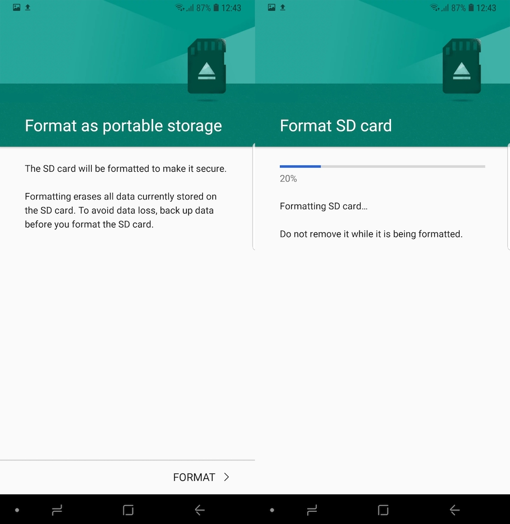 How to format Samsung Galaxy Note 9 SD card - SamMobile