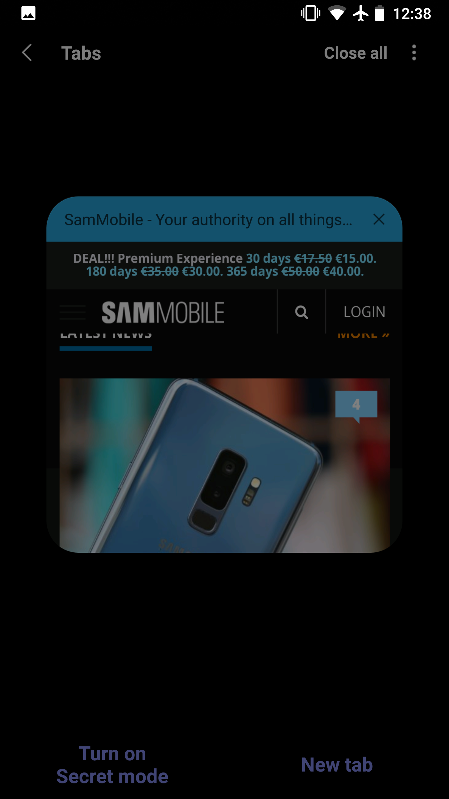 Samsung Internet 9 0 APK leaks with new user interface and