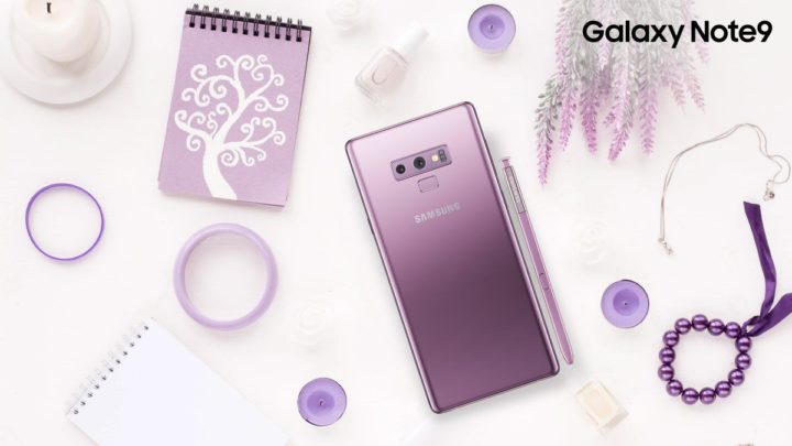 Galaxy Note 9 colors
