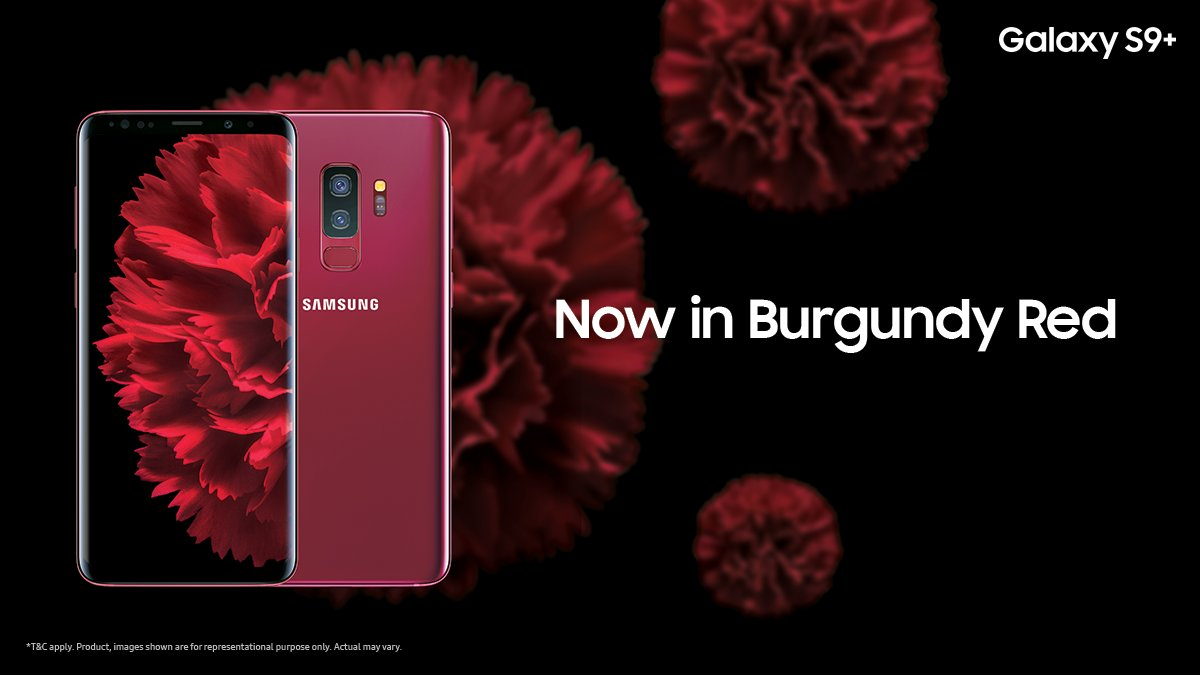 Samsung launches new Galaxy S9+ and Galaxy Note 9 colors ...