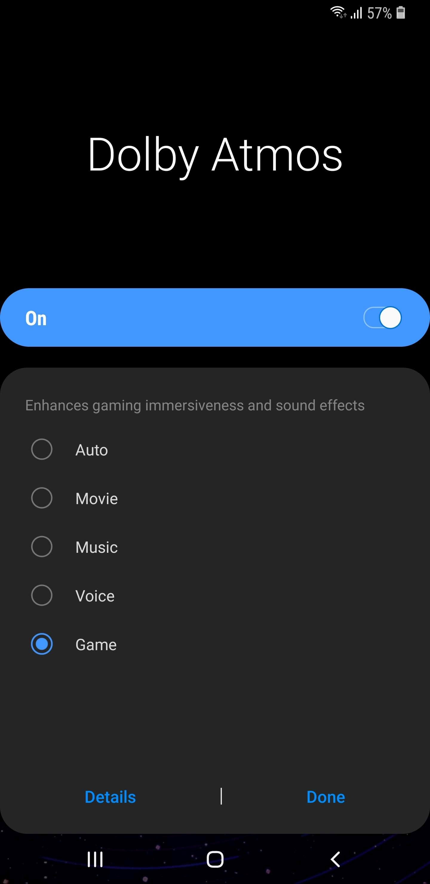 One UI (Android Pie) feature focus: Dolby Atmos gets game