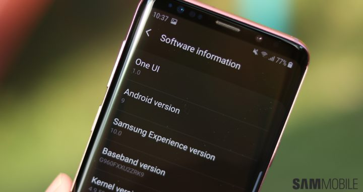 How to enable night mode on Samsung One UI (Android Pie