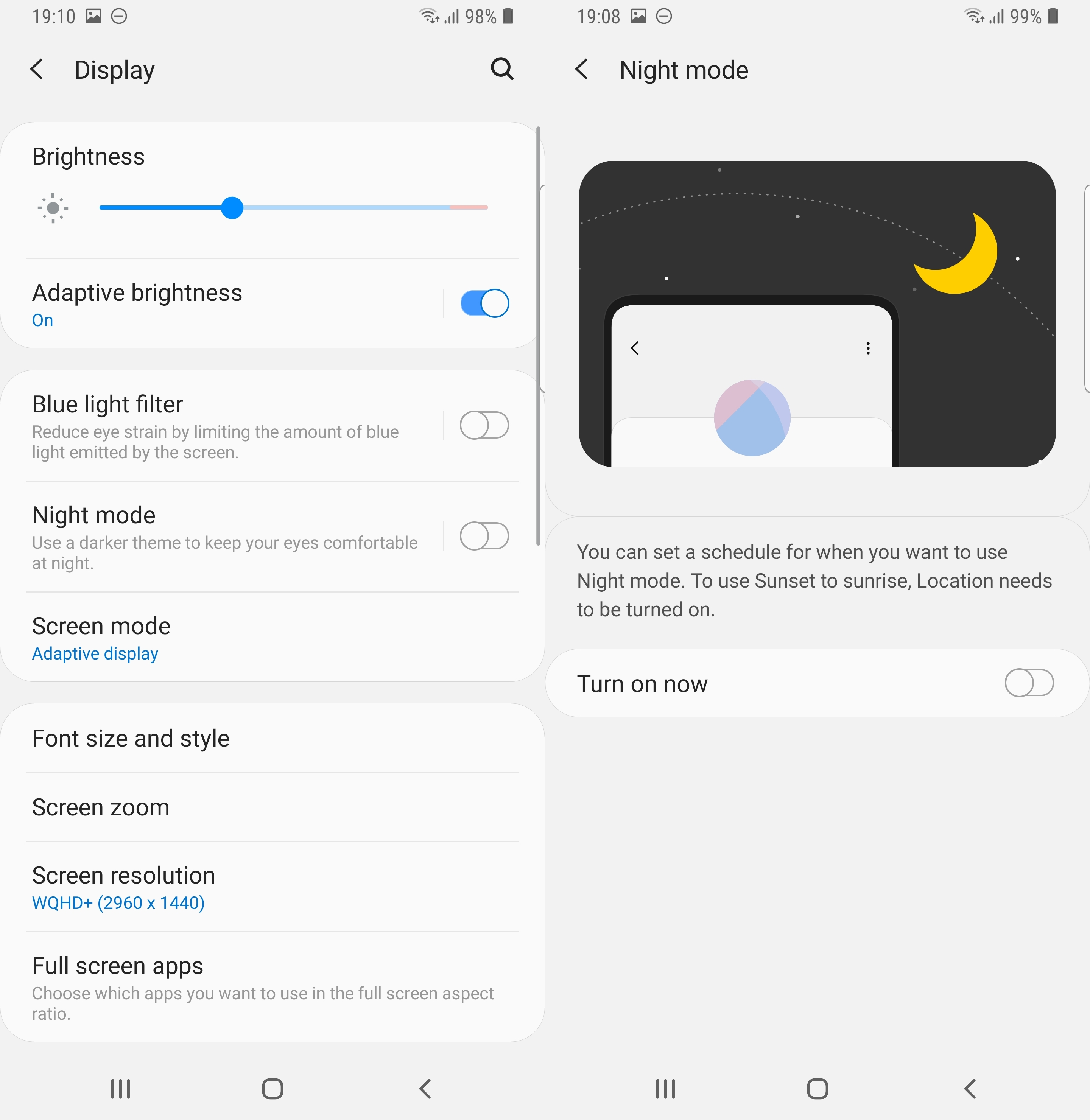 How to enable night mode on Samsung One UI (Android Pie) - SamMobile