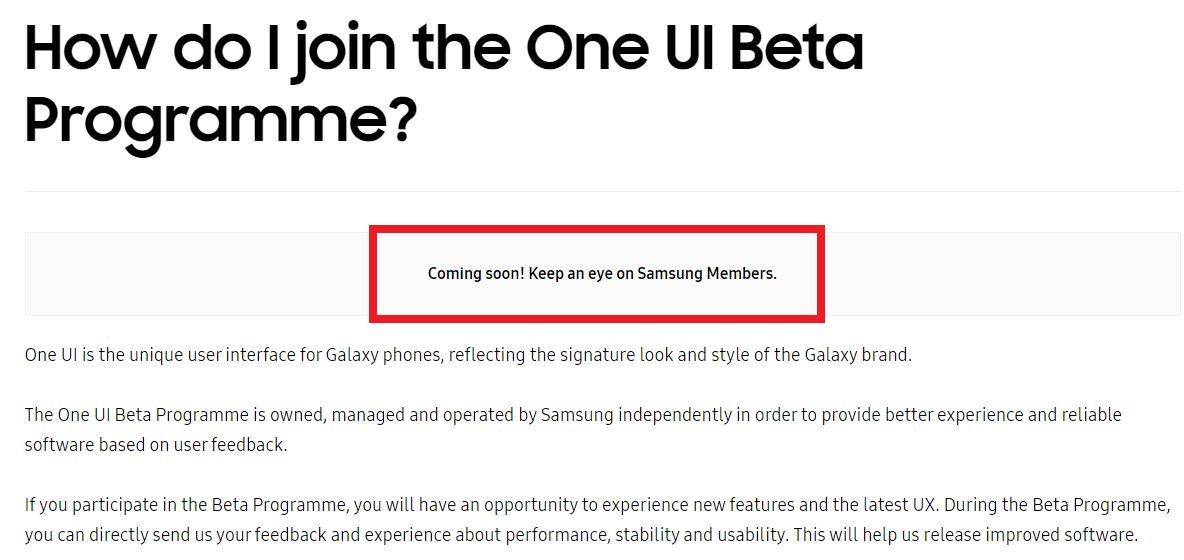 samsung uk android pie beta delay