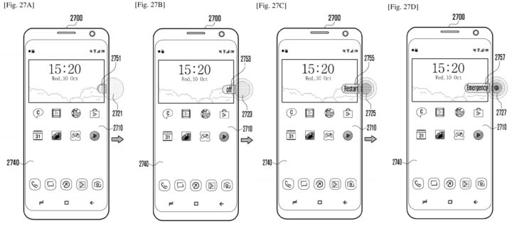 Samsung patent shows more pressure sensitive navigation: squeezing, new keys